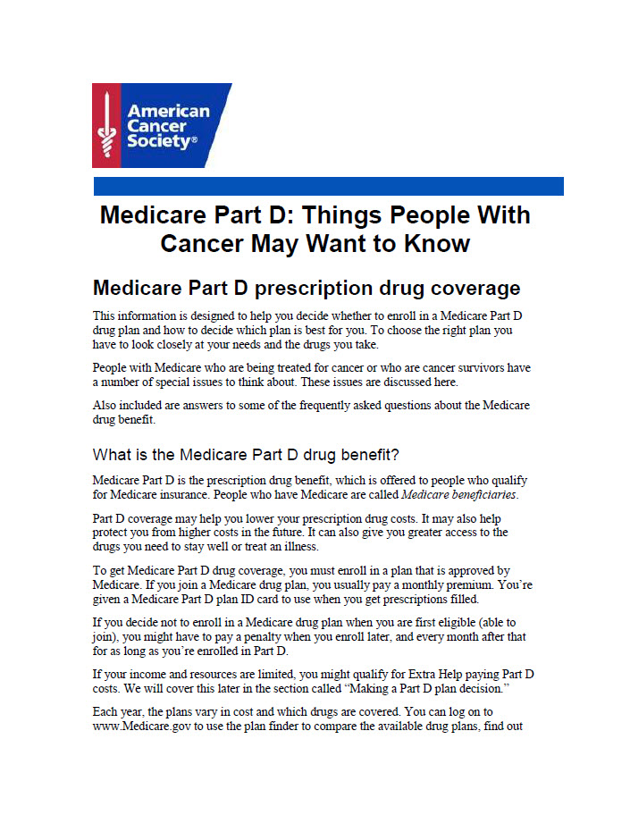 Medicare-Part-D-Things-People-With-Cancer-May-Want-To-Know